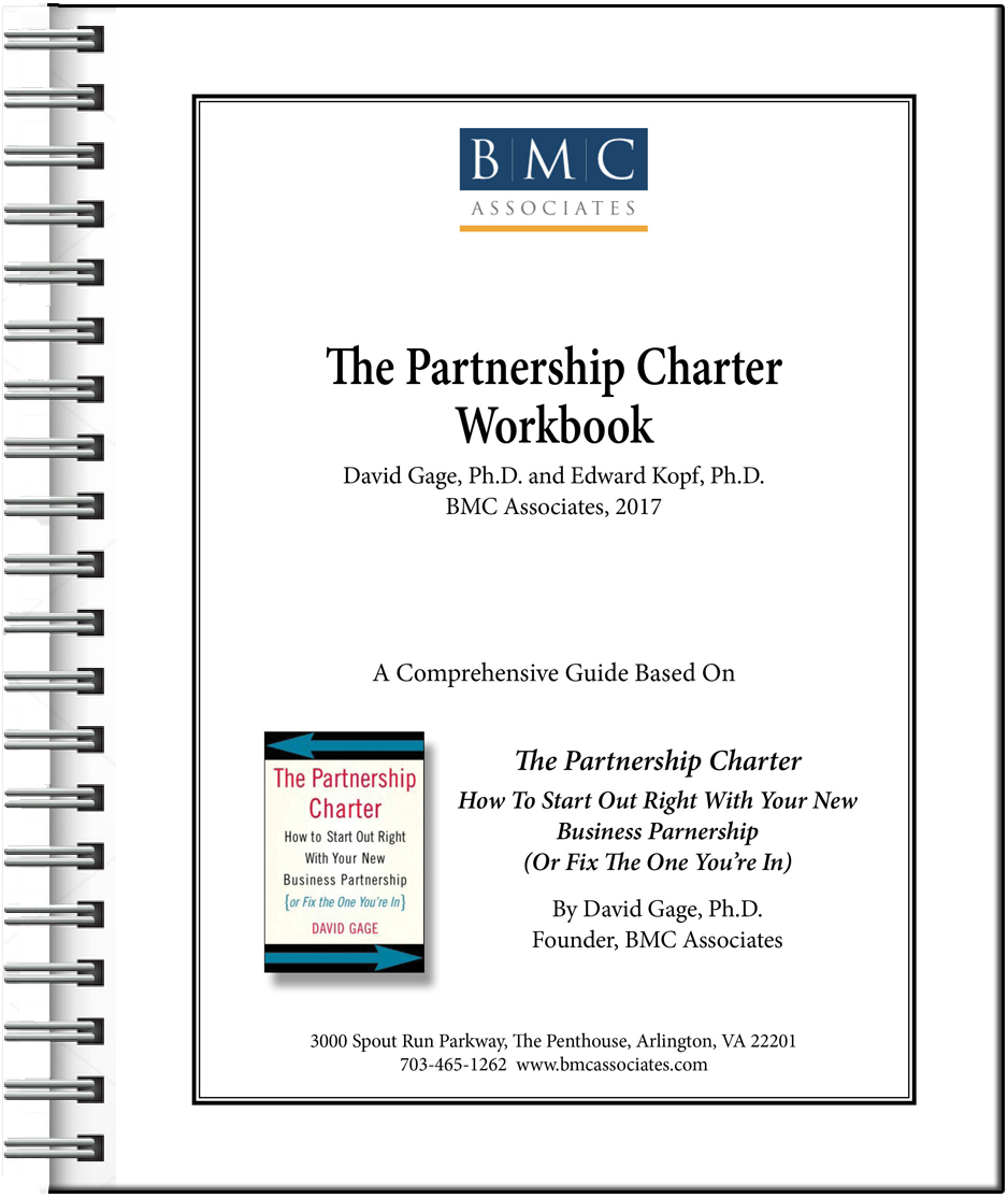 The Partnership Charter Workbook