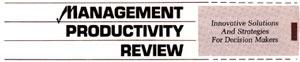 Management Productivity Review